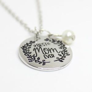 Jewelry - Best Mom Ever Mother's Day Necklace